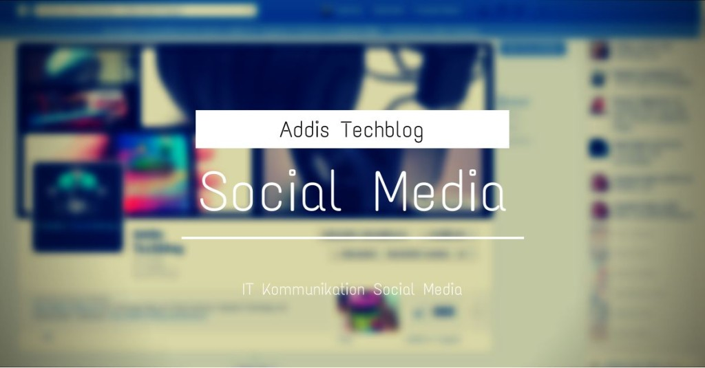 Social Media Addis Techblog